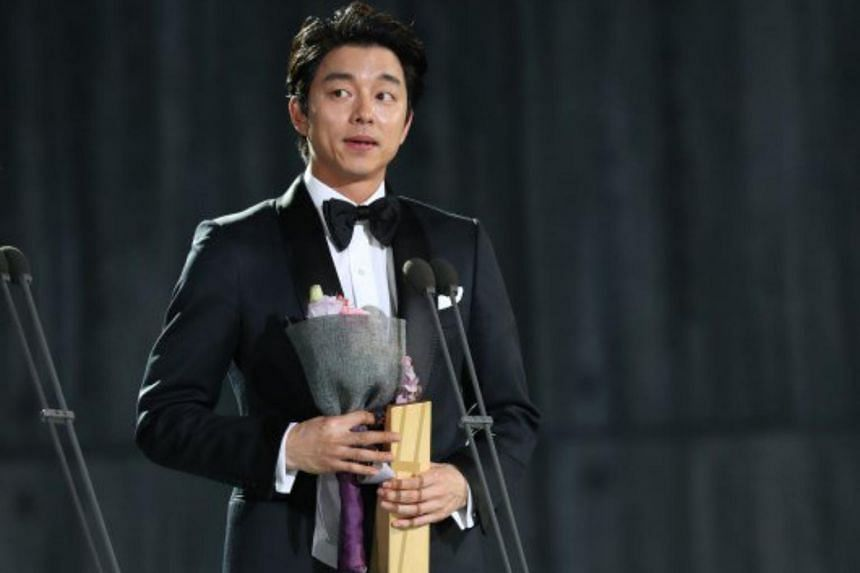 Gong Yoo won the Best Actor award for his role in Goblin at the Baeksang Arts Awards.