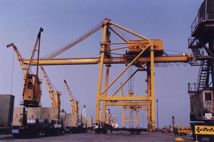 """One of the ports in Jiangsu operated by Xinghua Port Holdings. Pan-United said that the """"de-merger"""" of  Xinghua Port Holdings is expected to improve """"investor visibility""""."""