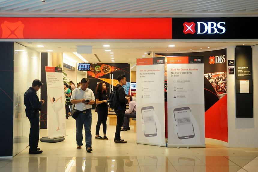 A DBS outlet at Suntec City.