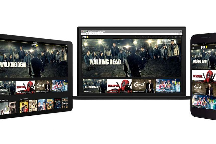 Fox Networks Group Asia launched a new on-demand video-streaming service this week that features more than 11,000 hours of the company's most popular programming.