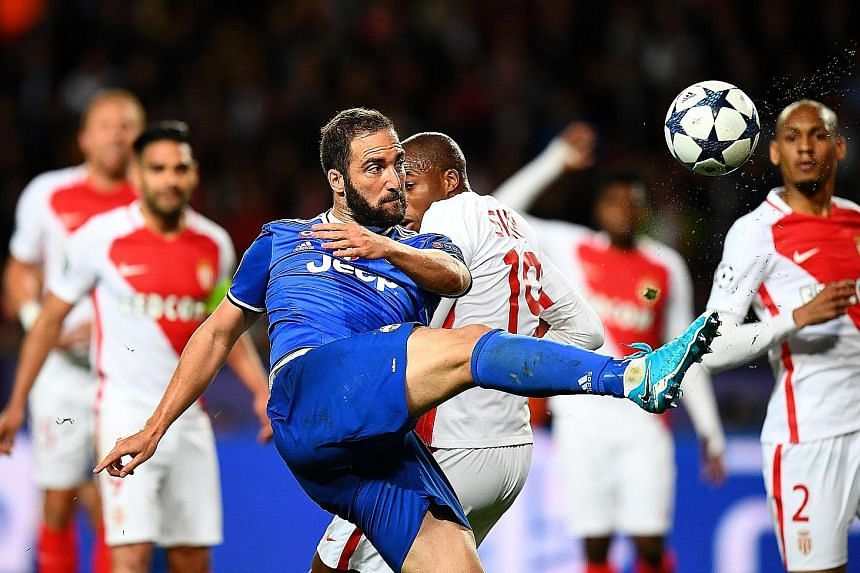Juventus' Gonzalo Higuain was the star man at the Stade Louis II. He may get the chance to show Real what they are missing if both teams reach the Champions League final.