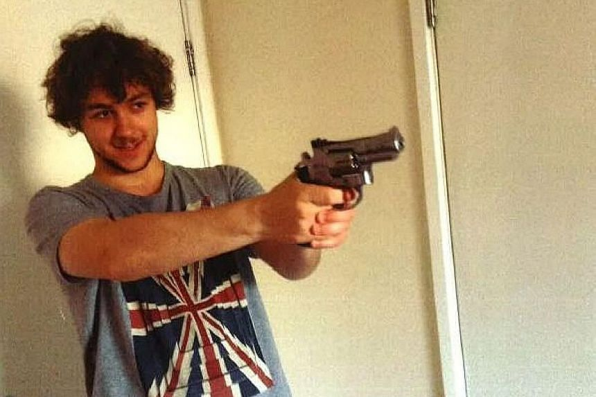 DANGEROUS ACT: Although he claimed this was a prank, the bomb he left on the train was clearly designed to cause horrific injuries. - PROSECUTOR SUE HEMMING, on Damon Smith (above), who planted a homemade bomb on a London Underground train.