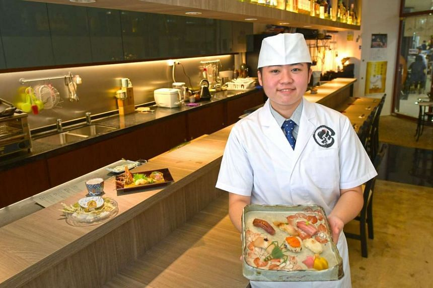 Tireless and driven young chef Aeron Choo has her own vision of Japanese cuisine and is intense and meticulous at her tiny eatery in Fortune Centre.