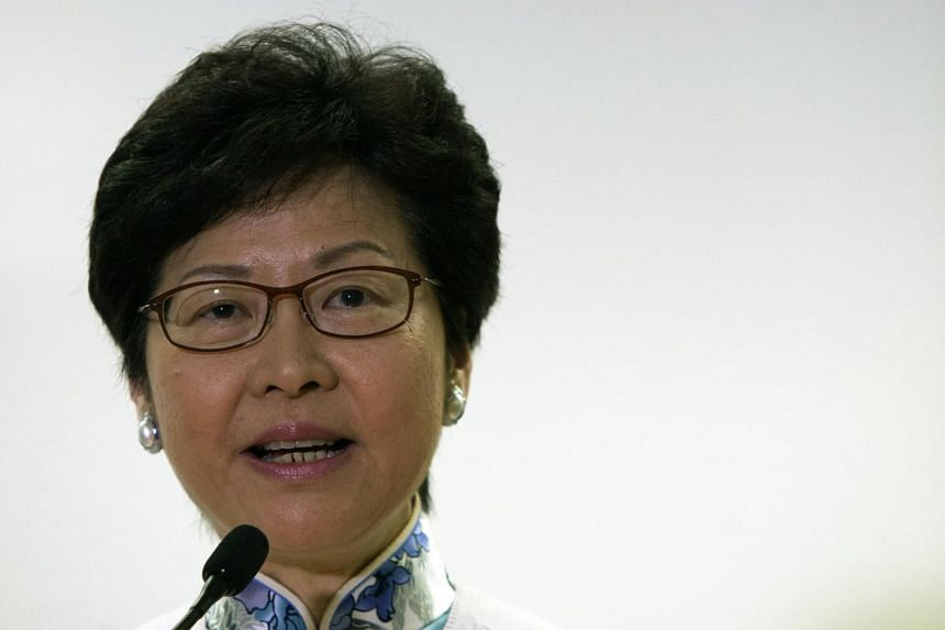 Hong Kong's next leader, Mrs Carrie Lam, takes office on July 1.
