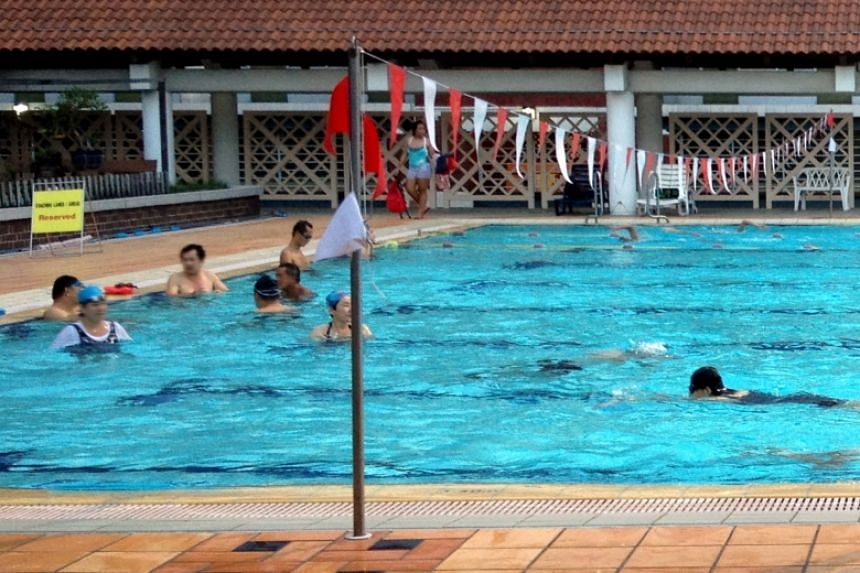 File photo of Hougang Swimming Complex.