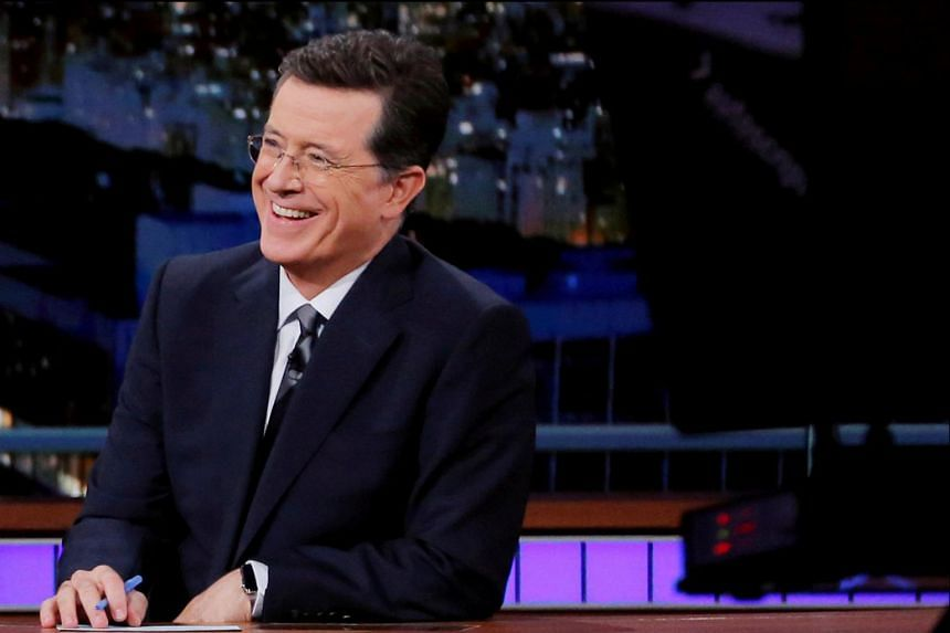 Stephen Colbert is the host of The Late Show on CBS.
