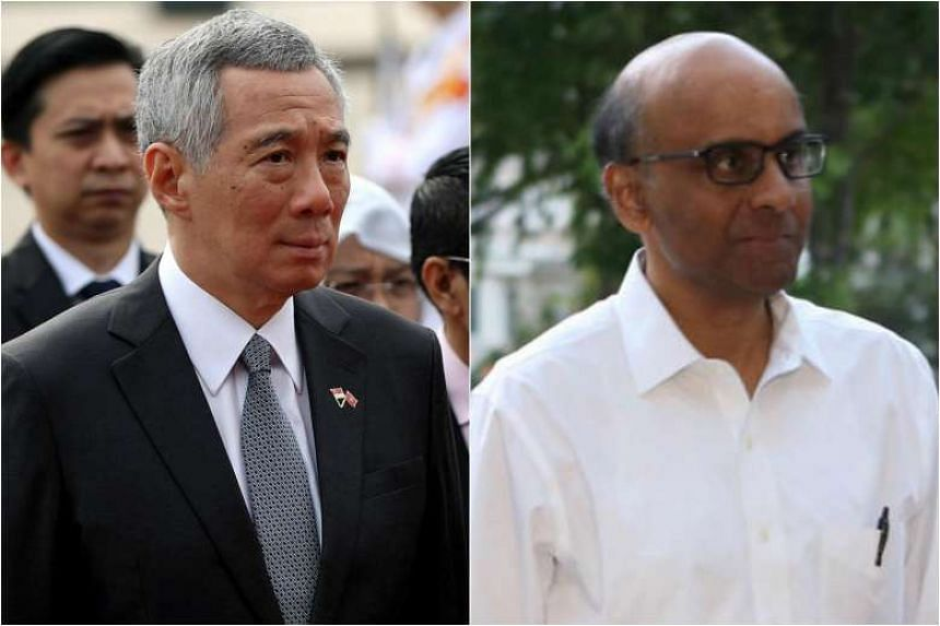 Among the Cabinet ministers who received the letters were Prime Minister Lee Hsien Loong and Deputy Prime Minister Tharman Shanmugaratnam.