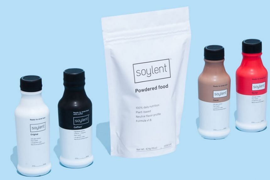 Soylent's products, which include bottled drinks, food bars and powder mixes, are only available online.