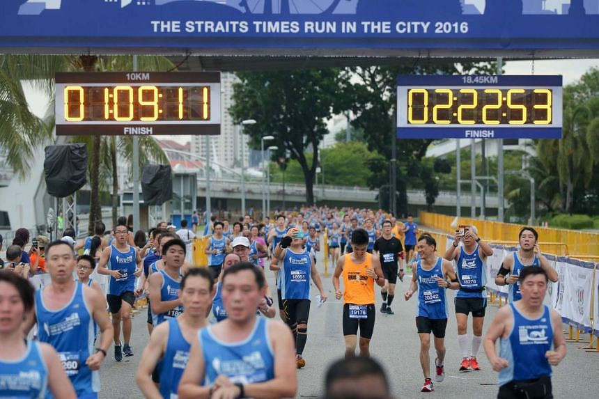 There are prizes to be won by participants who sign up for the ST Run before May 15.