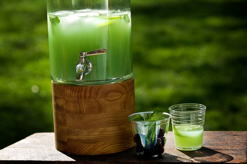 Use fresh pineapple juice in Swamp Water Punch for best results.