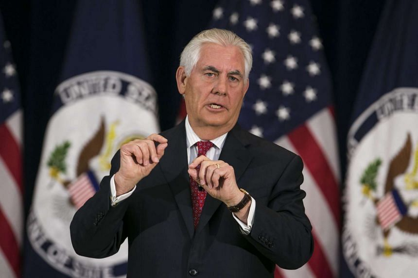 Secretary of State Rex Tillerson has signalled potential third-party sanctions.