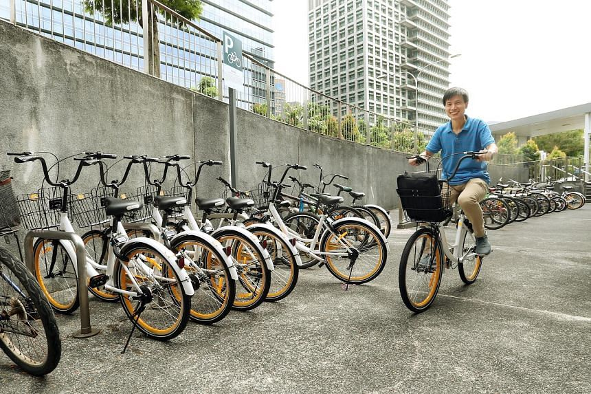 Bike-sharing company oBike has recently launched parking location indicators in its app to help users to find designated parking areas.