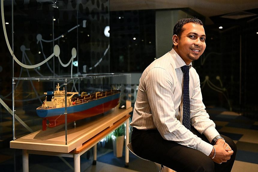 Mr Sheikh Harun Mohammad Rafik decided to make a mid-career switch to the maritime and offshore industry, even though he had a master's in sports science and was a national silat coach.