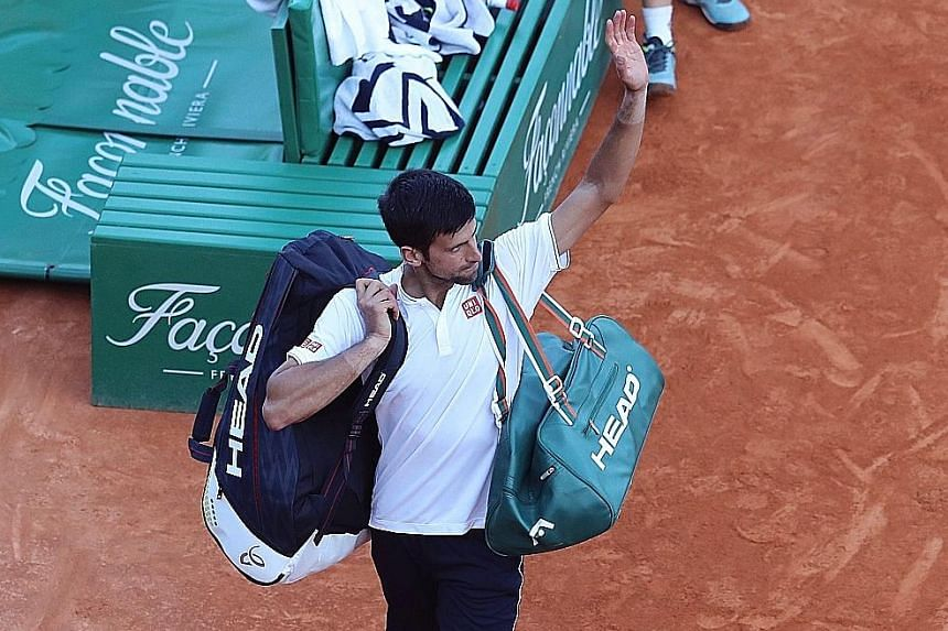 Novak Djokovic has sacked his coaching team and said he will continue on his own until he finds the right head coach.