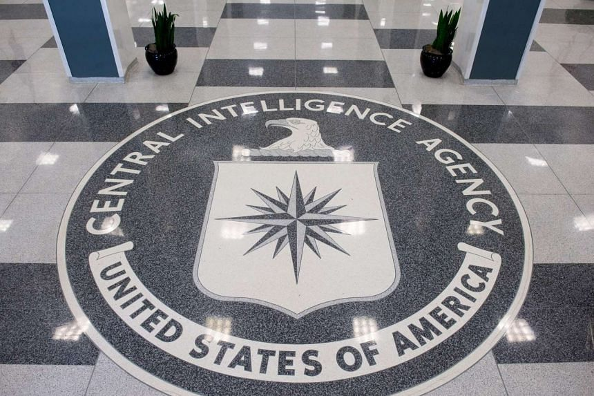 The lobby of the CIA Headquarters in Langley, Virginia.