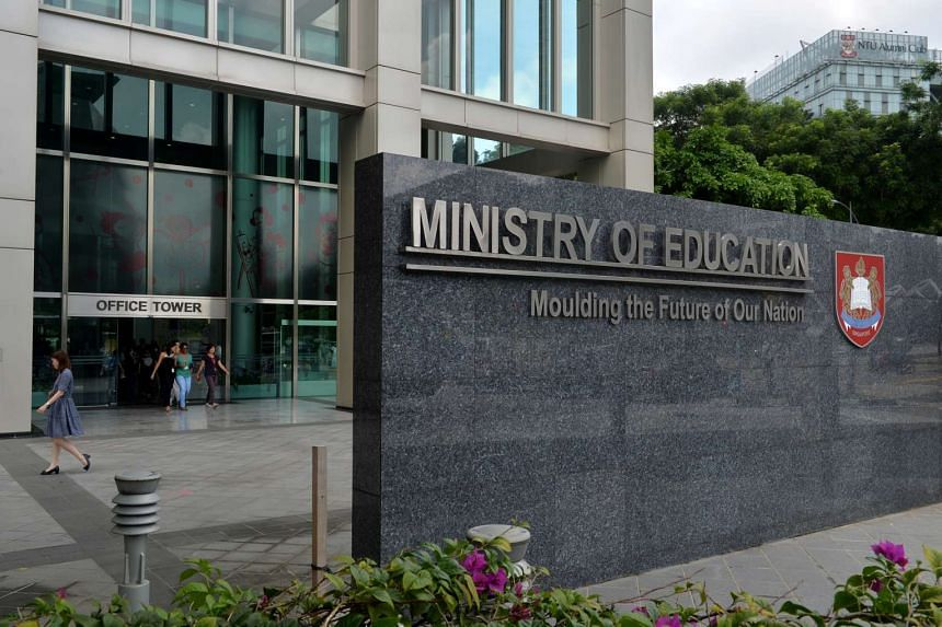 The Ministry of Education building at 1 North Buona Vista Drive.