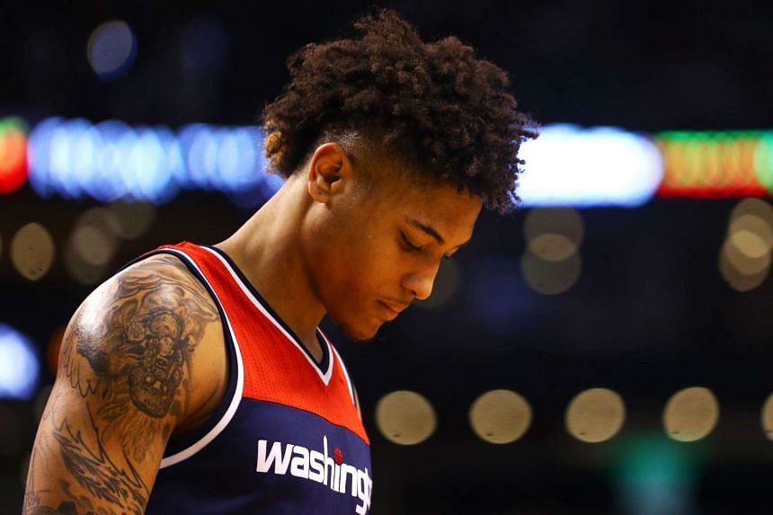 Washington Wizards forward Kelly Oubre (above) has been suspended.
