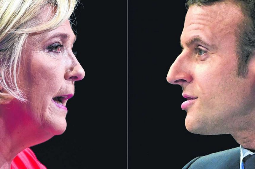 French voters will pick a new president on May 7, choosing between far-right leader Marine Le Pen and young centrist Emmanuel Macron.