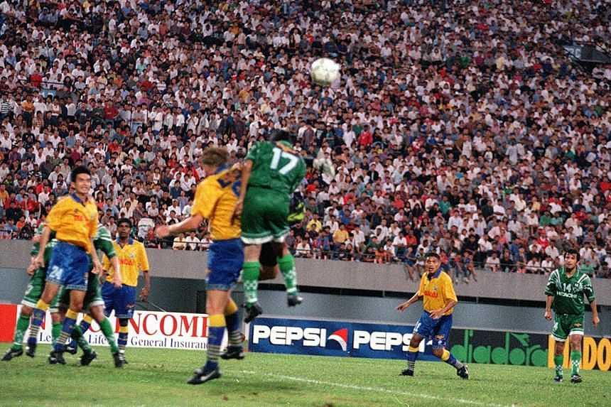 The FAS is facing a challenge to revive the S-League to the glory days when there was an estimated 30,000 turnout as seen at a Woodlands Wellington v Geylang United match at the National Stadium in the inaugural 1996 season.