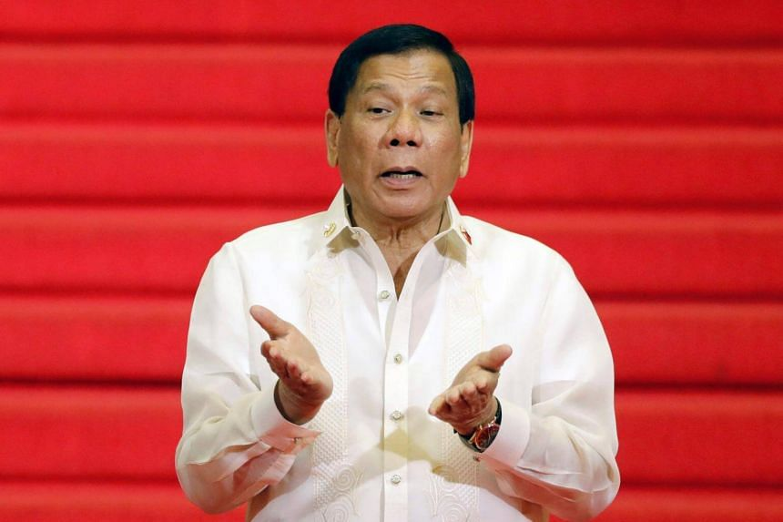 Duterte started off with a 47 per cent trust rating and his peak was 84 per cent a week before he took office late in June.