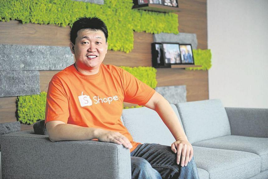 Garena founder and CEO Forrest Li.