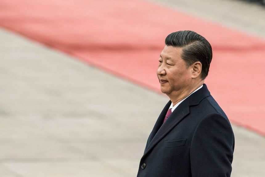 China's President Xi Jinping has reasserted the ruling Communist Party's role in limiting and guiding online discussion.