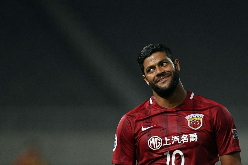 Shanghai SIPG's Brazilian striker Hulk denied any violent behaviour.