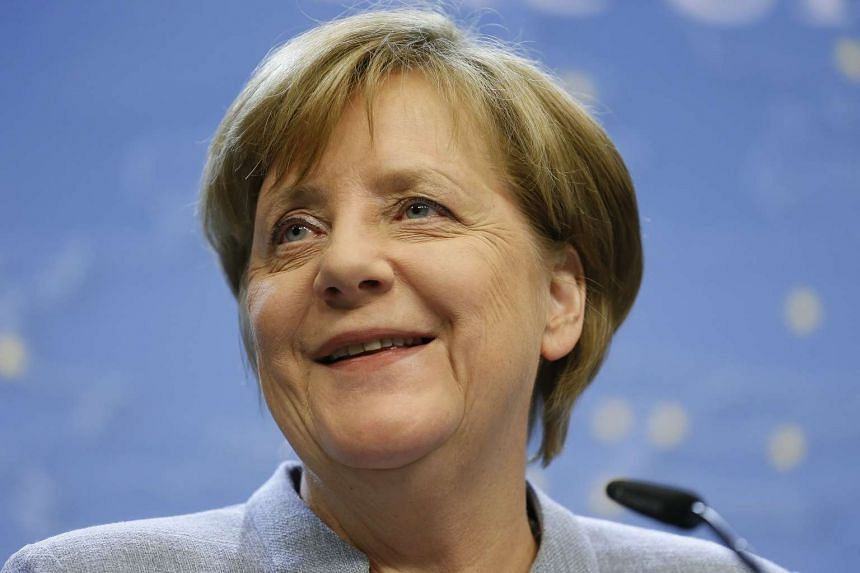 Chancellor Angela Merkel's conservatives secured a strong win on Sunday (May 7) in state polls in northern Germany.