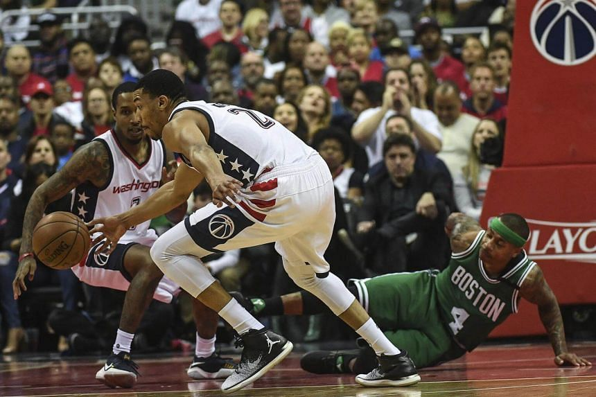 Otto Porter Jr. had four steals, including two during the decisive third quarter, as the Wizards beat the Celtics, 121-102, in Game 4 on Sunday.