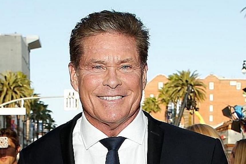 Actor David Hasselhoff (above) was a regular face on the Baywatch television series, which has since spun off to an upcoming movie starring, among others, actor Dwayne Johnson.