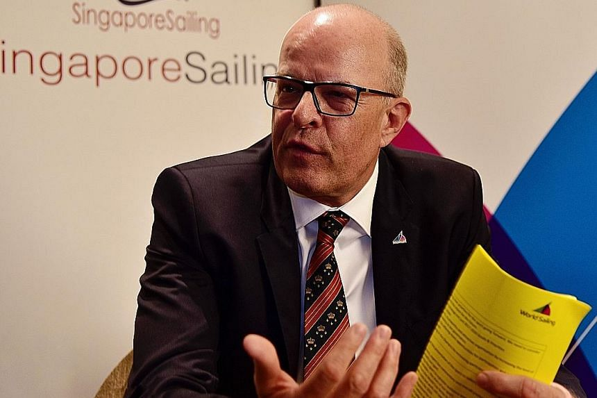 """Kim Andersen, the newly elected president of World Sailing, said Singapore can be """"a hub to support other (countries) in the region"""" and singled out the Republic's successful youth development programme."""