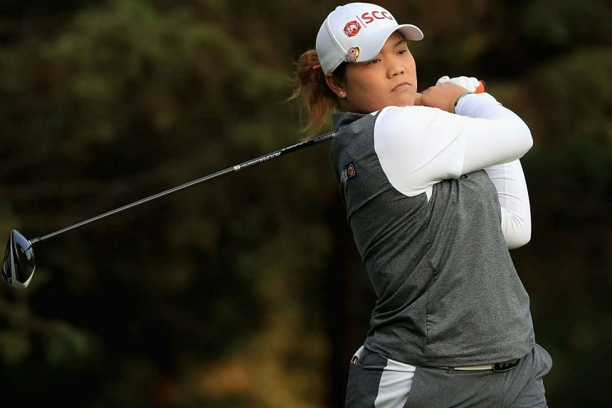 Ariya Jutanugarn outplayed Cristie Kerr to face Michelle Wie in the last four of the Lorena Ochoa Match Play in Mexico City.