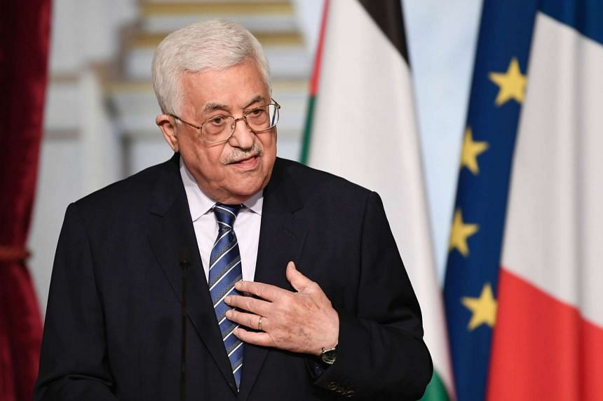 US President Donald Trump will host Palestinian leader Mahmoud Abbas at the White House on May 3, 2017 for talks on efforts to revive the Middle East peace process. PHOTO: AFP