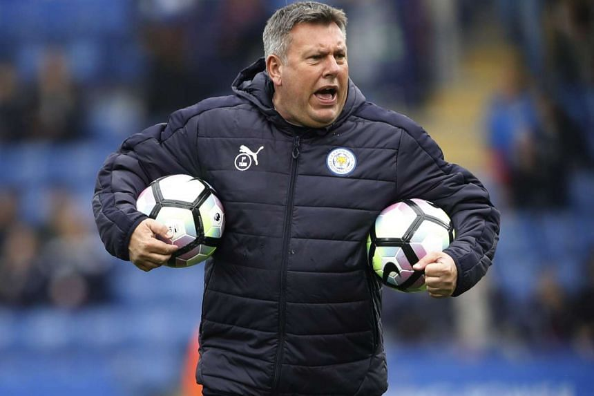 Leicester interim manager Craig Shakespeare will speak to the owners about his contract at the end of the season. Shakespeare took over the reins in February from sacked manager Claudio Ranieri with his deal set to expire in the summer. PHOTO: REUTER