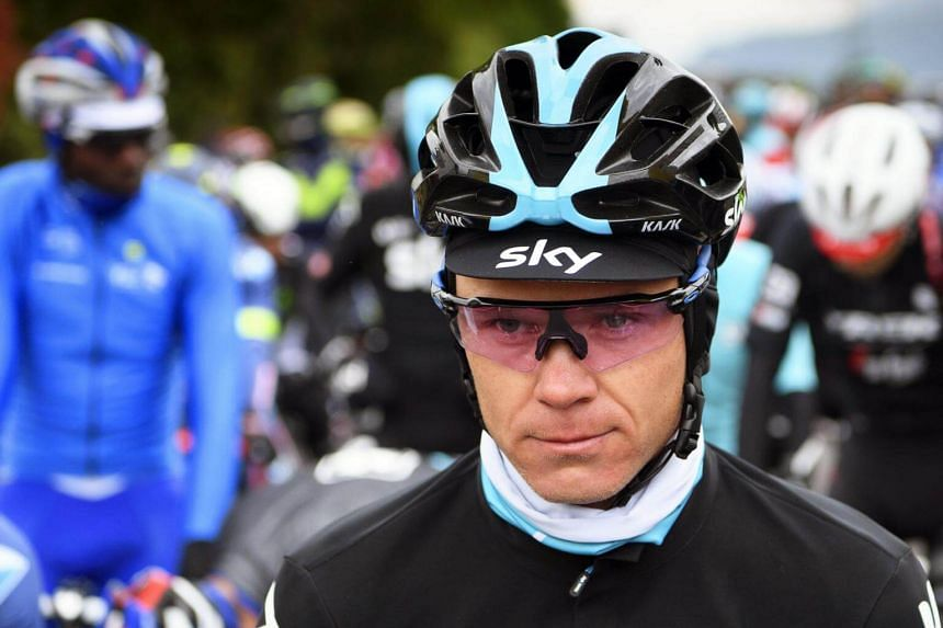 Chris Froome rides for the British-based Team Sky and will defend his title when the Tour de France begins in Dusseldorf, Germany, on July 1.