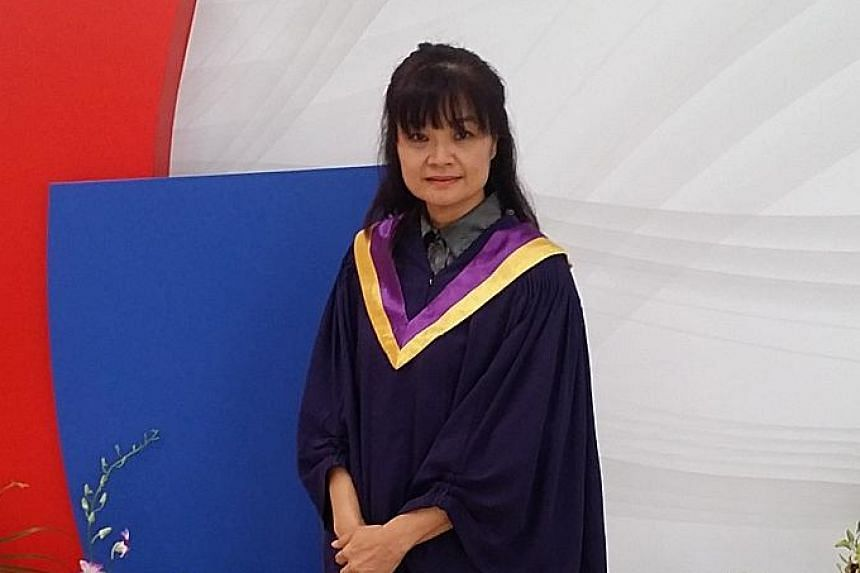 Youth counsellor Wynne Yeo, who graduated from NUS in 1985, is keen on taking up a module to find out more about a particular course and meet people with similar interests.