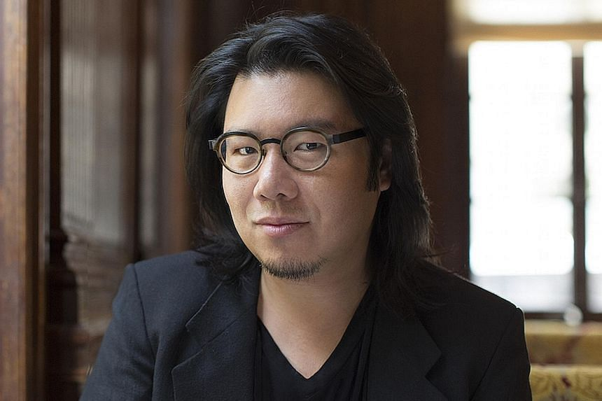 Kevin Kwan's third book, Rich People Problems, is out in Singapore today.
