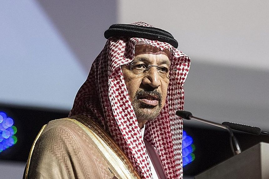 Saudi Energy Minister Khalid Al-Falih said Opec will likely maintain output cuts this year and possibly next year.