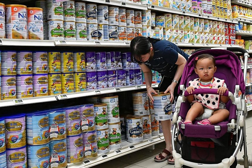 The Agri-Food and Veterinary Authority will strengthen curbs on labelling and advertising of infant milk powder. While some infant formula firms give the impression that their brand of milk powder can do more for children, the scientific evidence for