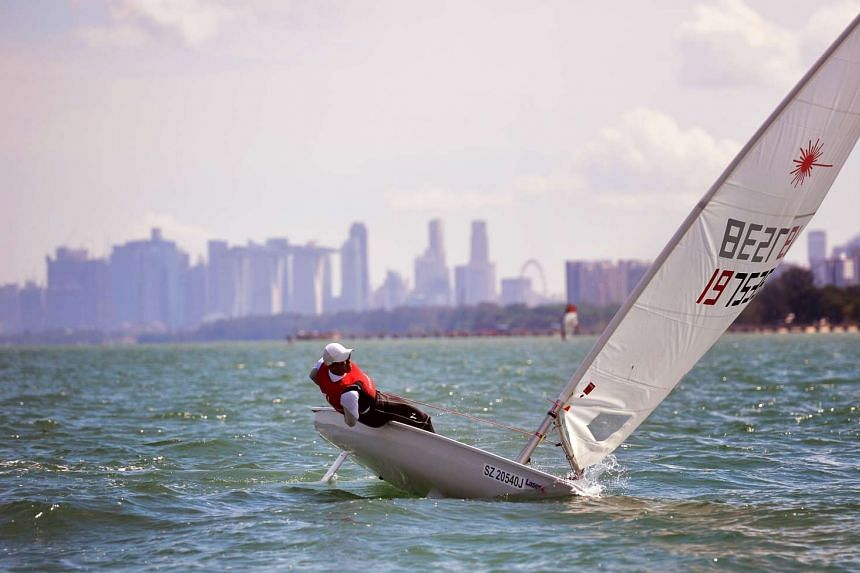 The books outline the development of sailing in Singapore.