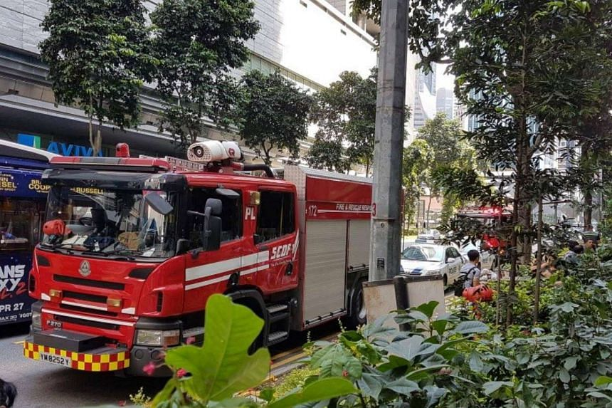 A fire broke out at Shenton House on Tuesday (May 9) morning.
