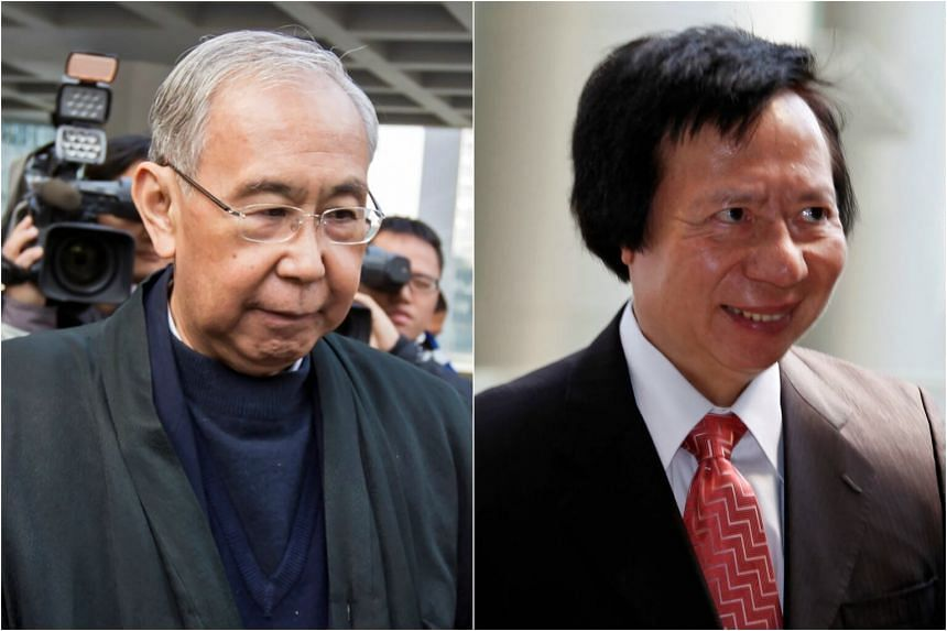Rafael Hui (left) was sentenced in to seven-and-a-half years in jail and Thomas Kwok (right) was jailed for five years.