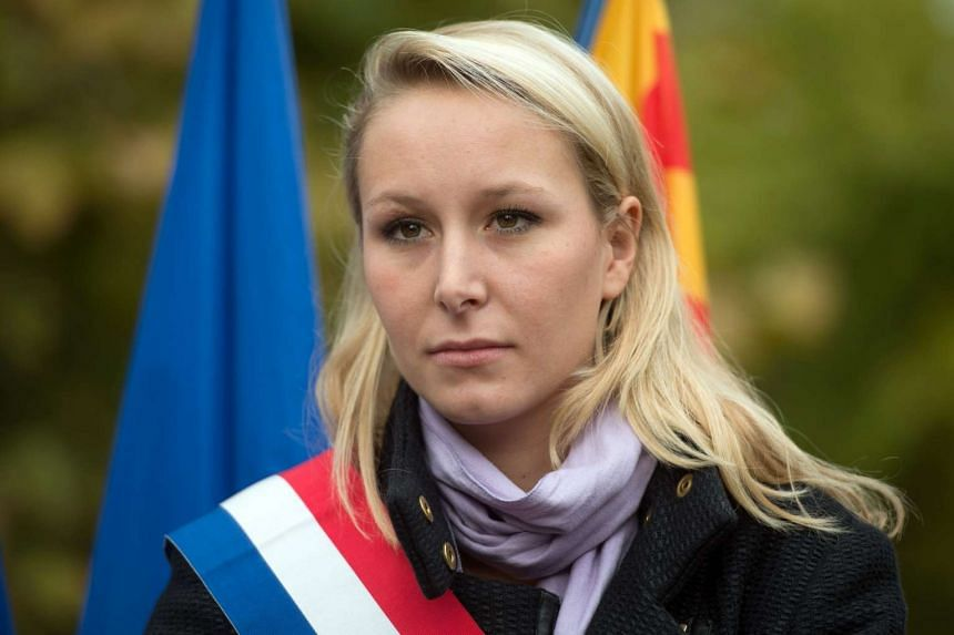 French far-right Front National party member of parliament Marion Marechal-Le Pen on Oct 23, 2016.