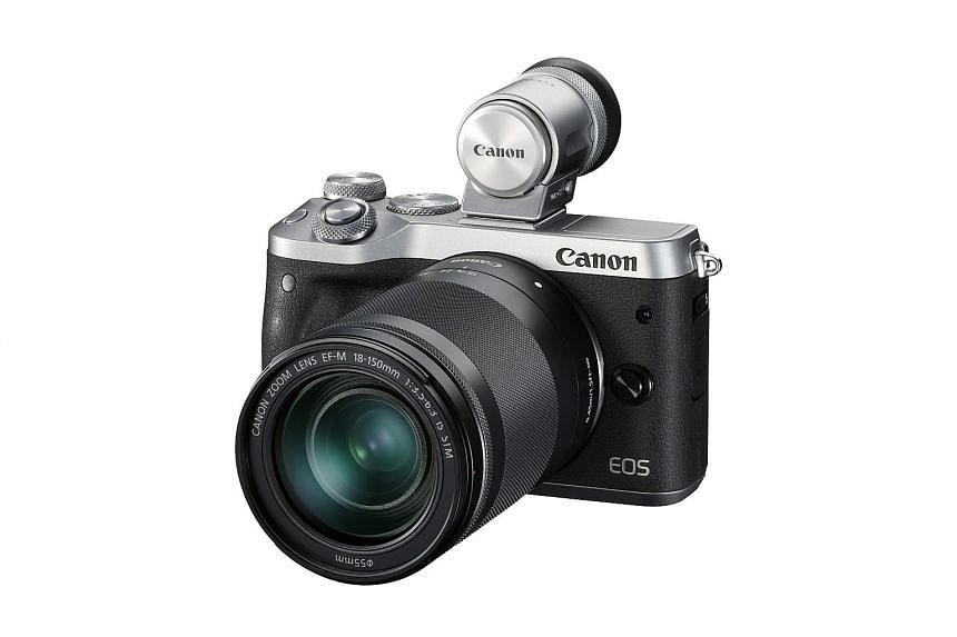 While the Canon EOS M6 is not the M5's successor, it is very much the same camera inside.