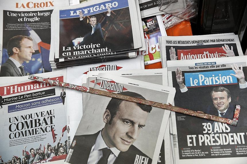 France has no equivalent to Britain's thriving tabloid culture or the US' robust right-wing broadcast media.