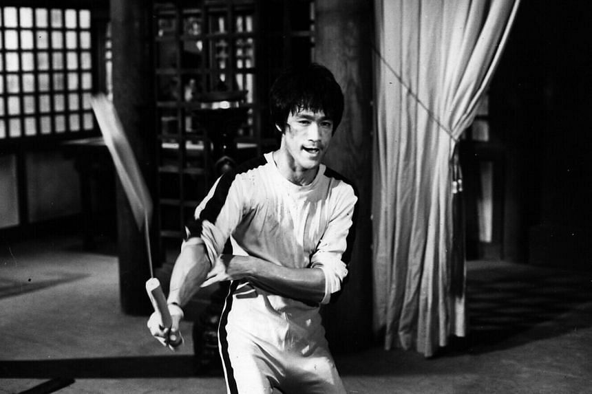 Bruce Lee in Game of Death.