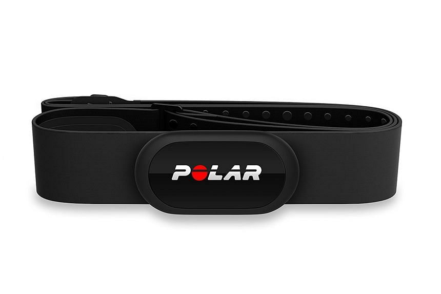 The H10's new Polar Pro chest strap uses extra electrodes to ensure that your heart rate is captured accurately and without interference.