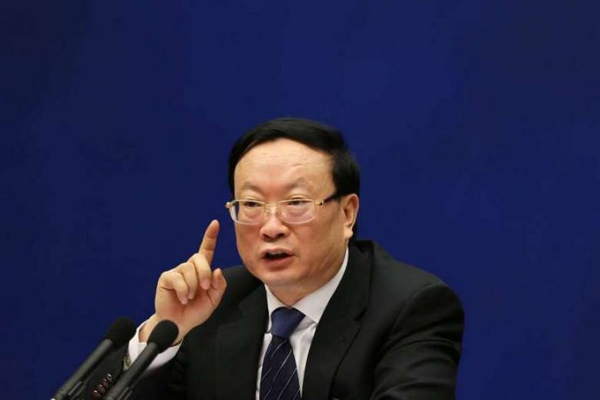 Former head of China's statistics bureau Wang Baoan pleaded guilty to accepting bribes totalling 154.28 million yuan (S$31 million) between 1994 and 2016.