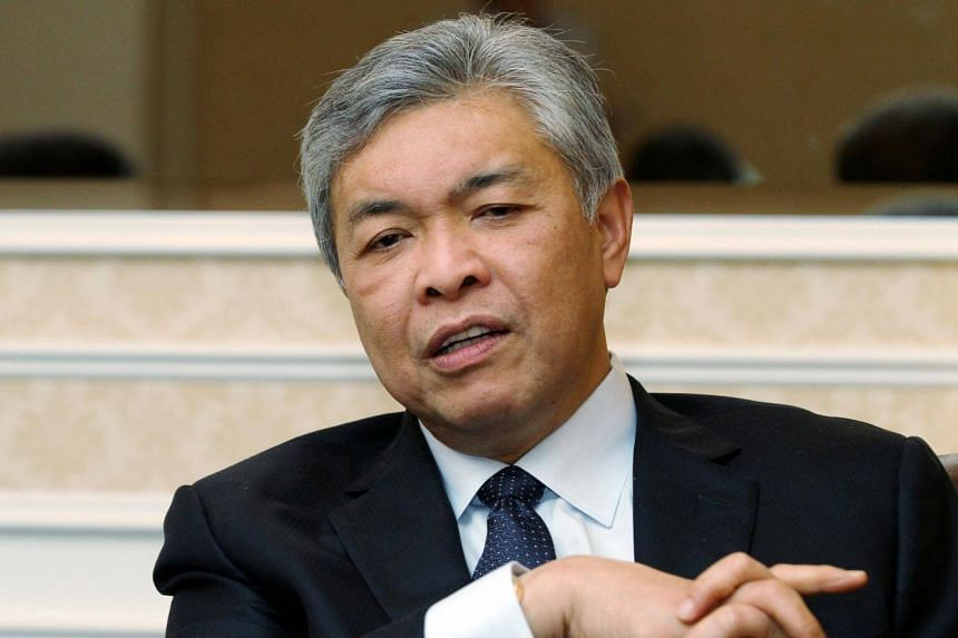 """Deputy Prime Minister Ahmad Zahid Hamidi said Bandar Malaysia must be built """"according to a specified period""""."""