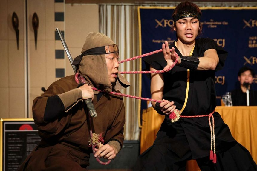 A ninja research facility will be set up at Mie University, Japan in July.